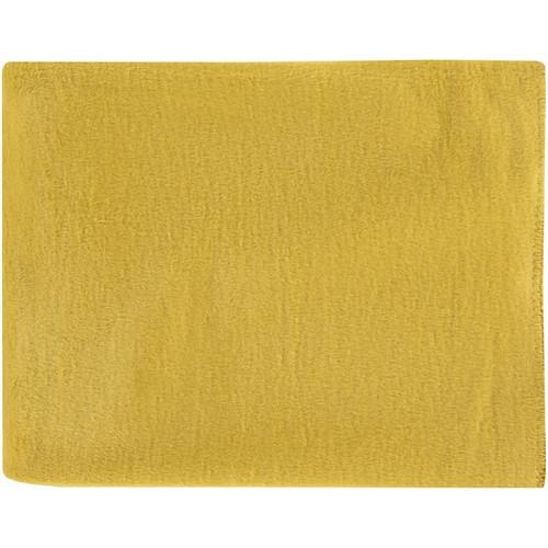 "Yellow Solid Rectangular Throw Blanket 50"" x 67"" - IMAGE 1"