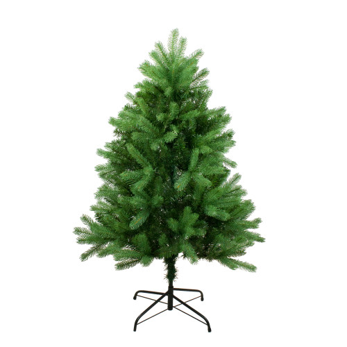 4' Full Noble Fir Artificial Christmas Tree - Unlit - IMAGE 1