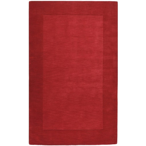 5' x 8' Magical Moments Bittersweet and Appalachian Cherry Red Wool Area Throw Rug - IMAGE 1