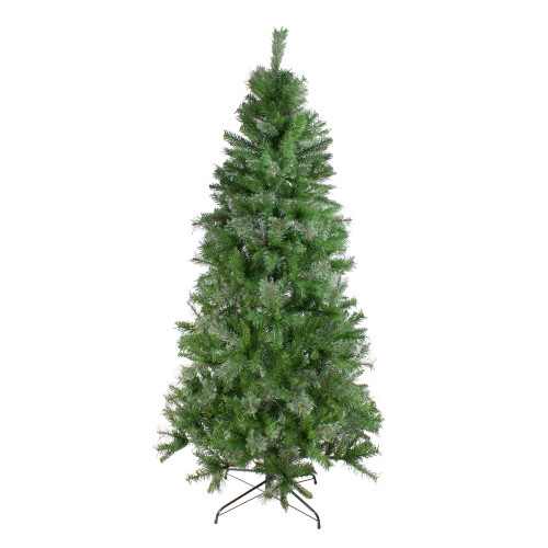 7.5 ft Medium Mixed Cashmere Pine Artificial Christmas Tree - Unlit - IMAGE 1