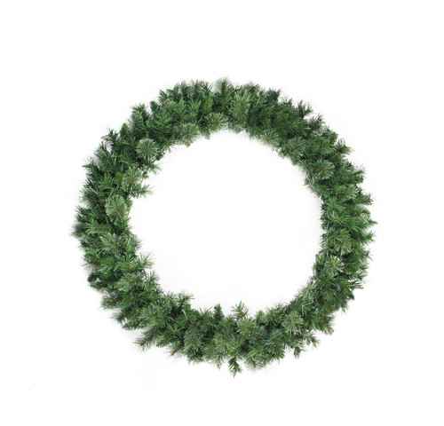Mixed Cashmere Pine Artificial Christmas Wreath - 48-Inch, Unlit - IMAGE 1
