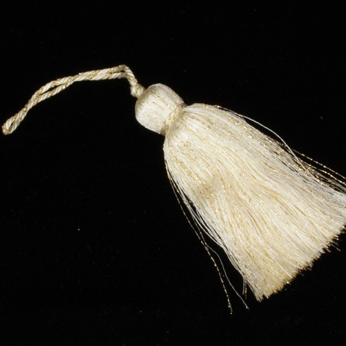 """Club Pack of 24 Gold Contemporary Metallic Tassels 4"""" - IMAGE 1"""