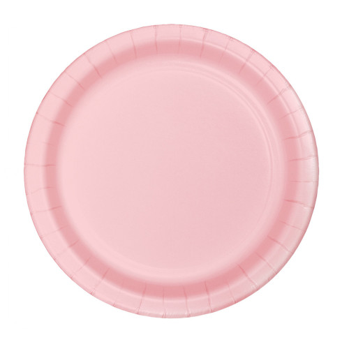 """Club Pack of 240 Classic Pink Disposable Paper Party Banquet Dinner Plates 9"""" - IMAGE 1"""