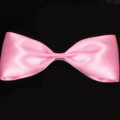 "Pink Double Face Satin Craft Ribbon 0.25"" x 162 Yards - IMAGE 1"