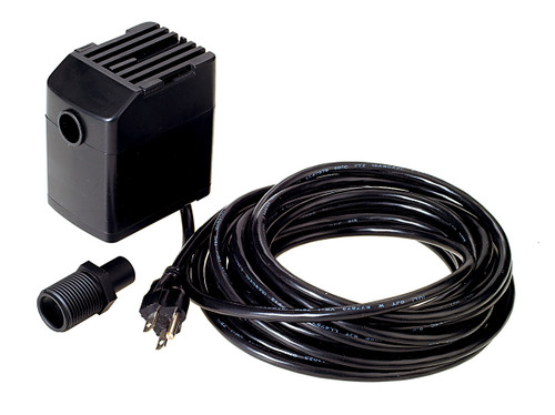 Black HydroTools Electric Above-Ground Swimming Pool Cover Siphon Pump - IMAGE 1