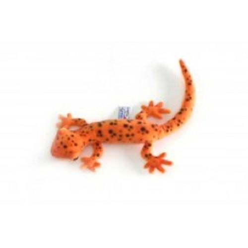 "Set of 4 Orange Handcrafted Soft Plush Salamander Stuffed Animals 14.75"" - IMAGE 1"