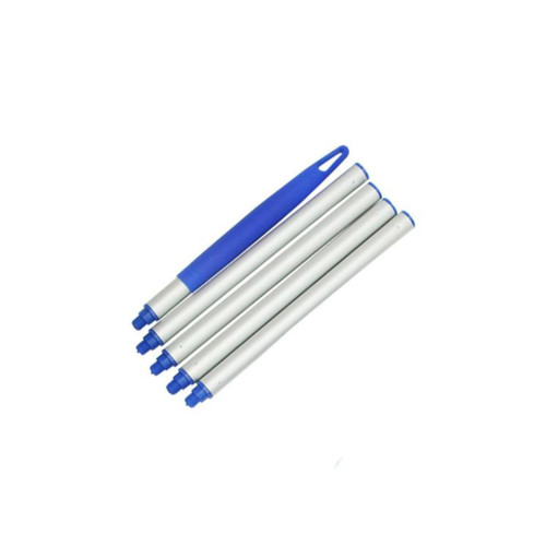 Set of 4 Swimming Pool Straight Extension Poles for Skimmers - IMAGE 1