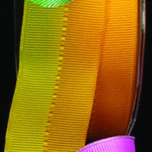 """Yellow Color Grosgrain Wired Craft Ribbon 1.5"""" x 27 Yards - IMAGE 1"""