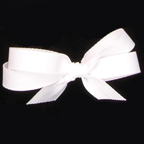 "White Woven Edge Grosgrain Craft Ribbon 1.5"" x 88 Yards - IMAGE 1"