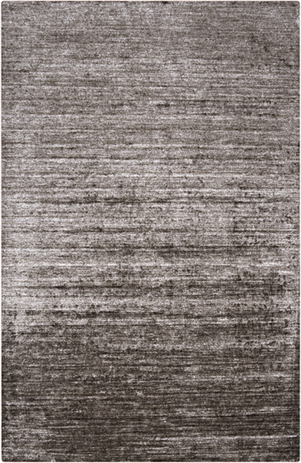 2' x 3' Gray Hand Knotted Rectangular Area Throw Rug - IMAGE 1