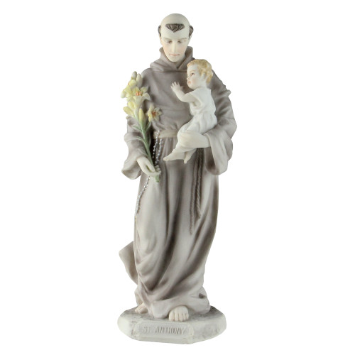 """8"""" Galleria Divina Religious St. Anthony with Child Figure - IMAGE 1"""