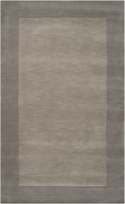 8' x 11' Magical Moments Bittersweet and Appalachian Gray Wool Area Throw Rug - IMAGE 1