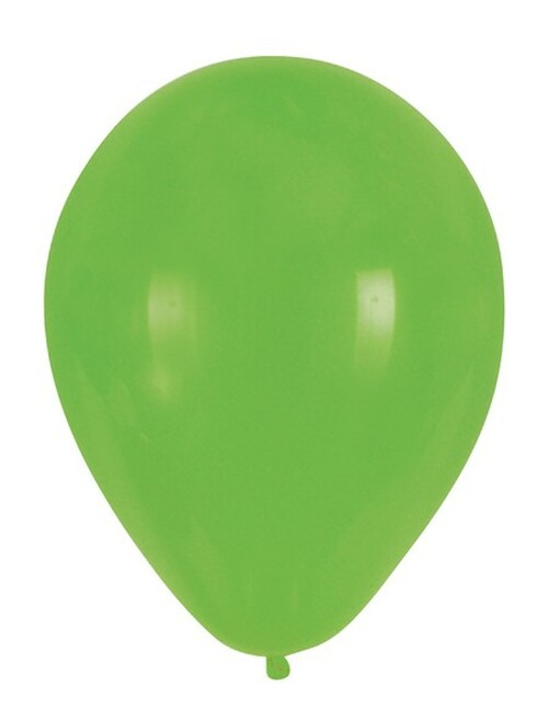 """Club Pack of 180 Fresh Lime Latex Party Balloons 12"""" - IMAGE 1"""