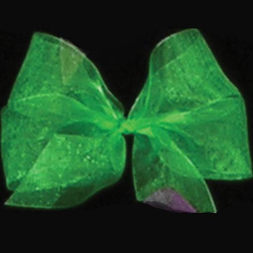 "Emerald Green Solid Organdy Craft Ribbon 4"" x 55 Yards - IMAGE 1"