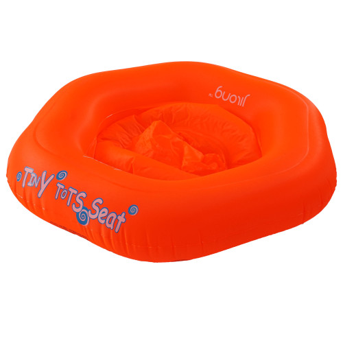 """29"""" Red Inflatable Swimming Pool Baby Seat Float - IMAGE 1"""