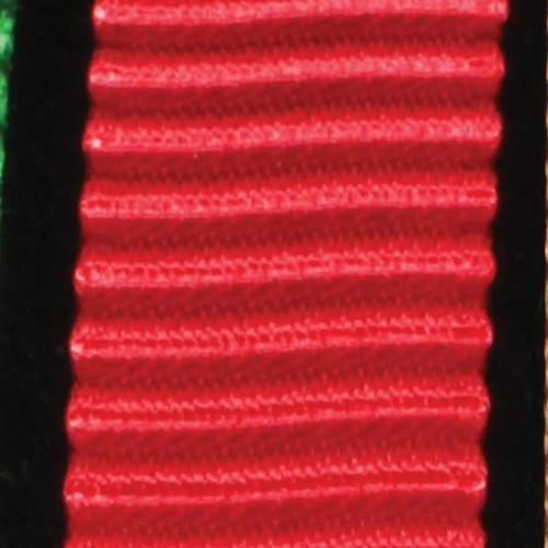 """Red Satin Plisse Craft Ribbon 0.5"""" x 54 Yards - IMAGE 1"""