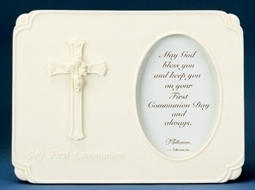 "Pack of 12 First Communion Decorative Rectangular Photo Frames 3.5"" x 5"" - IMAGE 1"