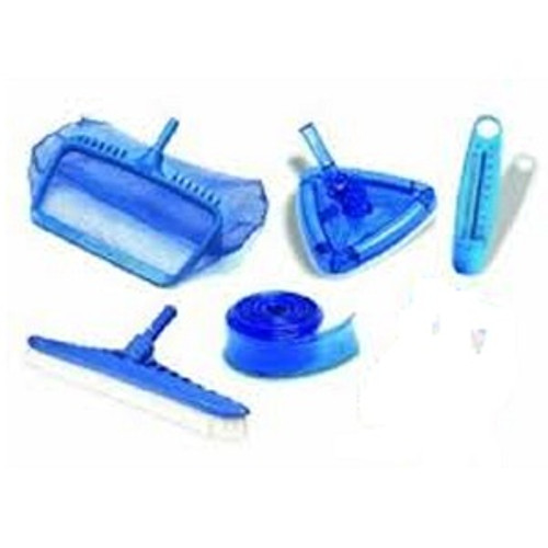 HydroTools Swimming Pool Cleaning Maintenance Kit with Test Kit - IMAGE 1