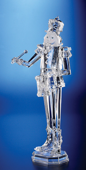 """Pack of 2 Icy Crystal Decorative Christmas Nutcracker Drummer Figure 18"""" - IMAGE 1"""