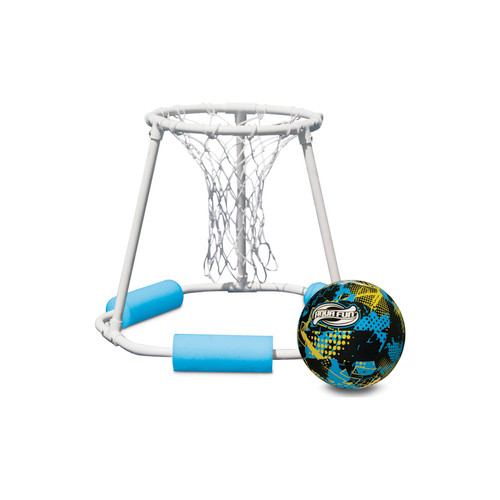 """24"""" Blue and White Classic Pro Water or Swimming Pool Basketball - IMAGE 1"""