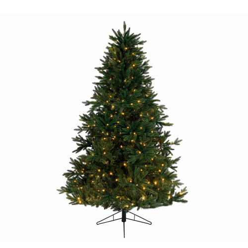 9' Pre-Lit Full Everlands Skandia Fir Artificial Christmas Tree - Warm Clear LED Lights - IMAGE 1