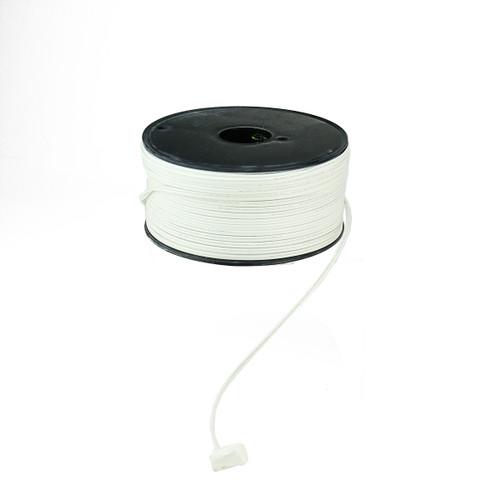 500' White 18 Gauge C7 Christmas Wire Spool - IMAGE 1