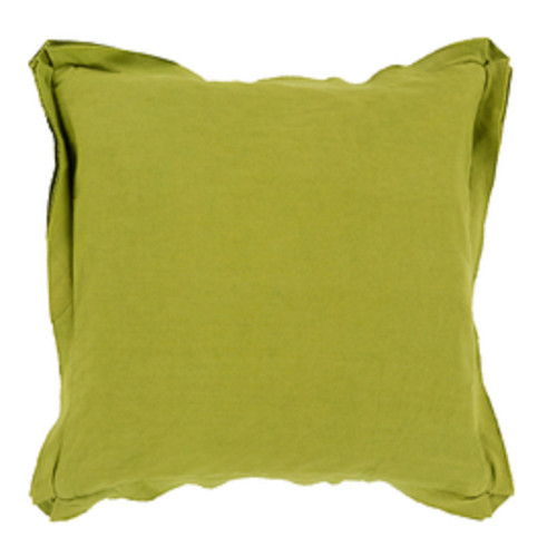 """20"""" Lime Green Contemporary Square Throw Pillow - IMAGE 1"""