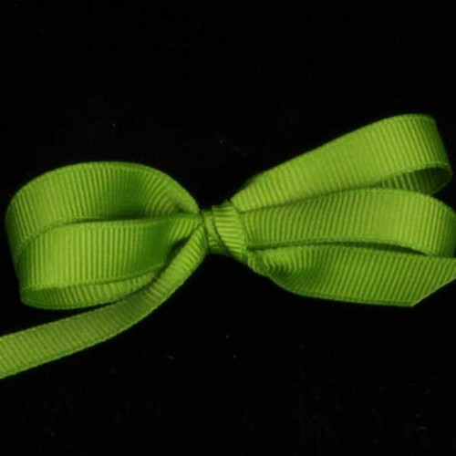 """Chartreuse Green Woven Edge Grosgrain Craft Ribbon 1.5"""" x 88 Yards - IMAGE 1"""