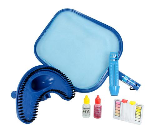 13-Inch HydroTools Basic Swimming Pool Cleaning Maintenance Kit - IMAGE 1
