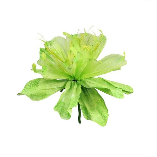 "26"" Green Decorative Spring Floral Artificial Craft Stem - IMAGE 1"