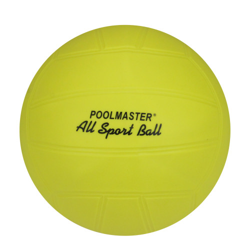 All Sport Inflatable Yellow Ball Swimming Pool Accessory 8.5-Inches - IMAGE 1