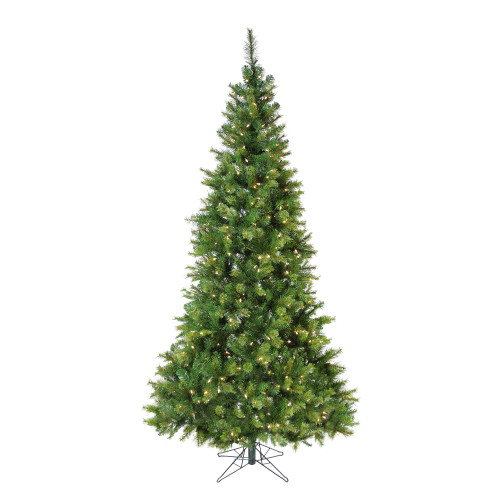 7.5' Pre-Lit Slim Jack Pine Artificial Christmas Tree - Clear LED Lights - IMAGE 1