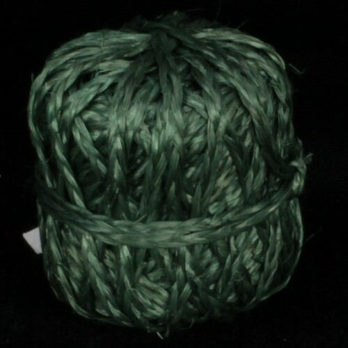 "Green Forest Braided Snail Bundled Ribbon 1.5""x 360 Yards - IMAGE 1"