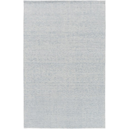 5' x 7.5' Contemporary Blue Hand Knotted Area Throw Rug - IMAGE 1