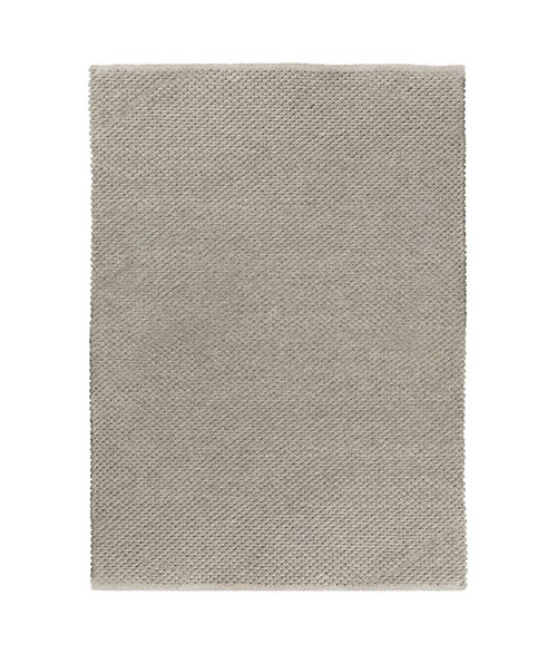 2' x 3' Gray Hand Woven Outdoor Area Throw Rug - IMAGE 1