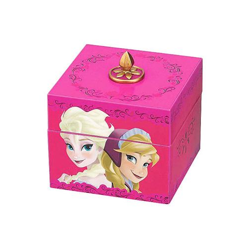 Mr. Christmas Disney Frozen Anna and Elsa Musical Keepsake Box with Pendant Necklace #11884 - IMAGE 1