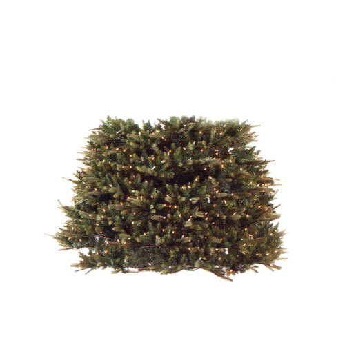 1.5' Pre-Lit Full Pine Extend-A-Tree Artificial Christmas Tree Extension Piece - Clear Lights - IMAGE 1