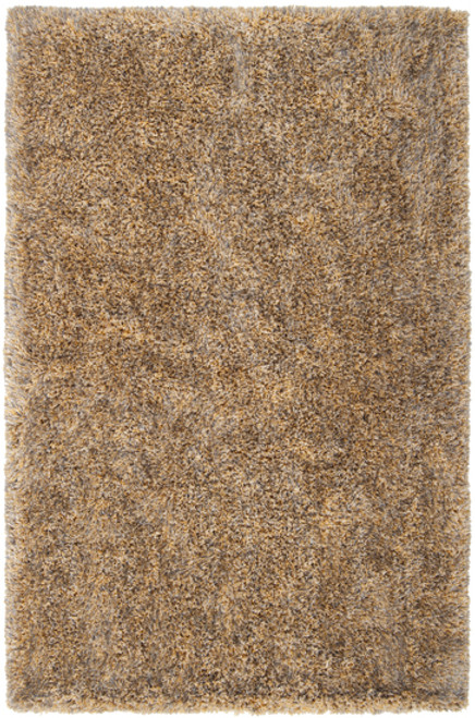 2' x 3' Brown and Ivory Hand-Woven Area Throw Rug - IMAGE 1