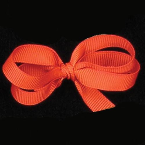 "Orange Woven Edge Grosgrain Craft Ribbon 1"" x 88 Yards - IMAGE 1"