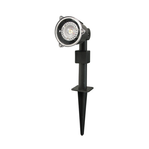 Set of 3 Eco-Friendly Warm White LED Garden Spotlights - IMAGE 1