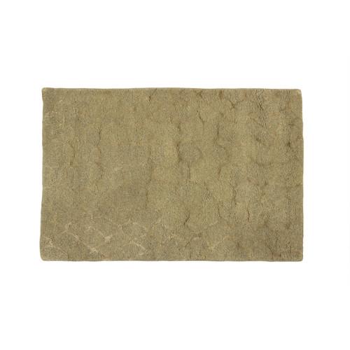 2' x 3' Exotic Snake Skin Animal Print Gray and Ivory Wool Area Throw Rug - IMAGE 1