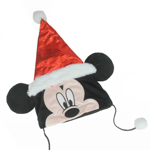 """16"""" Black and Red Mickey Mouse Unisex Child Christmas Costume Accessory - Medium - IMAGE 1"""