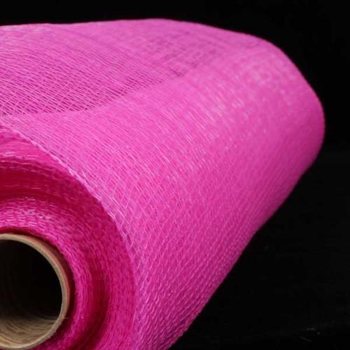 """Fuchsia Pink Decorating Mesh Craft Ribbon 21"""" x 60 Yards - IMAGE 1"""