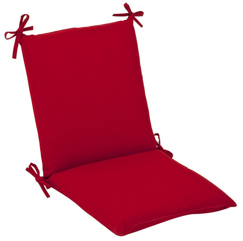 "Pompeii Red Outdoor Patio Corners Chair Cushion 36.5"" - IMAGE 1"