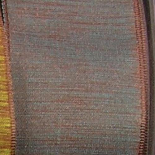 "Brown Solid Taffeta Wired Craft Ribbon 1.5"" x 54 yards - IMAGE 1"