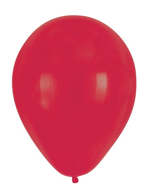 """Club Pack of 180 Classic Red Latex Party Balloons 12"""" - IMAGE 1"""
