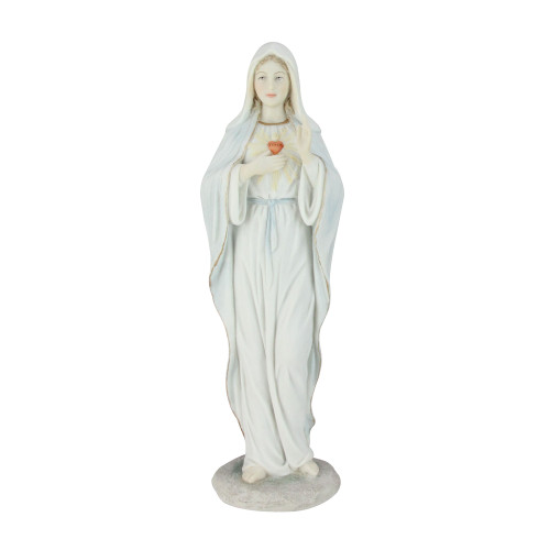 """8.25"""" Religious Immaculate Heart of Mary Figure - IMAGE 1"""