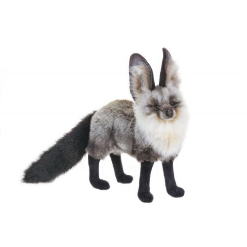 Silver Fox Stuffed Animal, Set Of 2 Lifelike Handcrafted Extra Soft Plush South African Cape Fox Stuffed Animals 22 Christmas Central