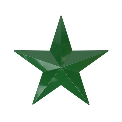 """36"""" Hunter Green Country Rustic Christmas Star Outdoor Patio Wall Decor - IMAGE 1"""