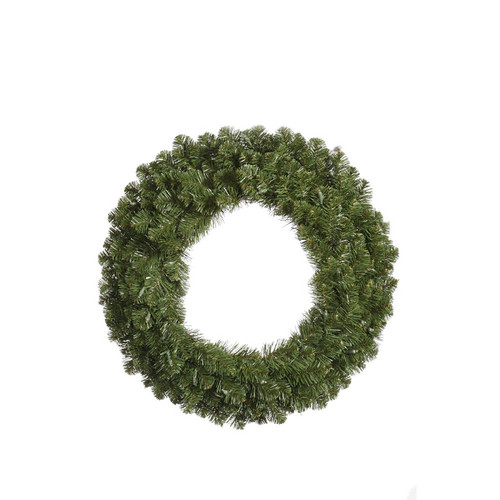"60"" Double-Sided Grand Teton Commercial Artificial Christmas Wreath - Unlit - IMAGE 1"